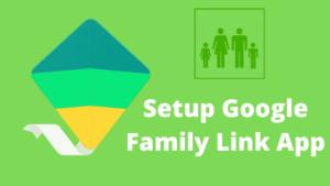 setup google family link app